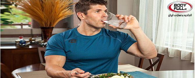 قبل از غذا آب بنوشید تا لاغر شوید