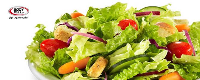 نمونه ای از رژیم غذایی برای روز شنبه