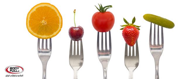 نمونه ای از رژیم غذایی برای یکشنبه