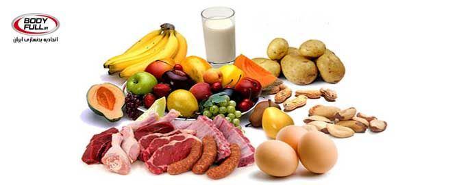 نمونه ای از رژیم غذایی برای روز دوشنبه