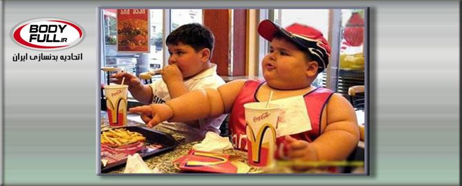 چاقی شکمی در کودکان