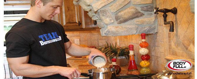 عضله سازی حرفه ای در آشپزخانه