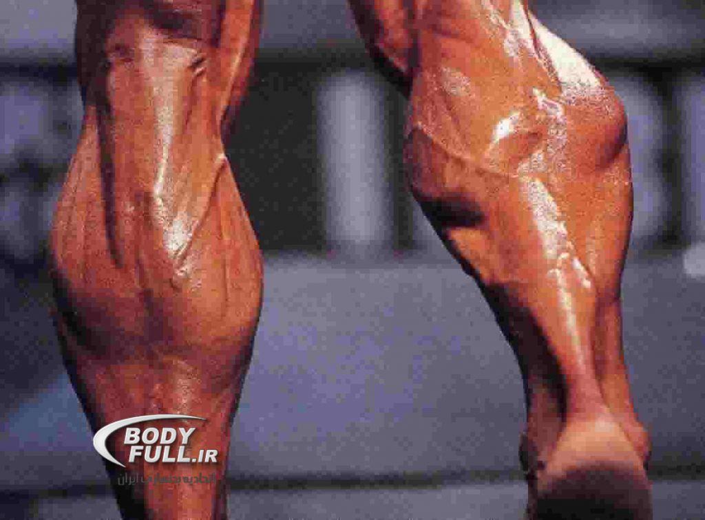 تحول عضلات پا برای بدنسازان کلاسیک