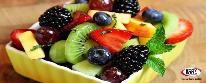 6 میوه عضله ساز