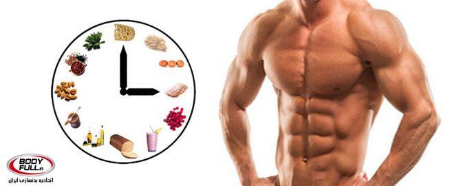 انفجار عضله با 5 ماده غذایی