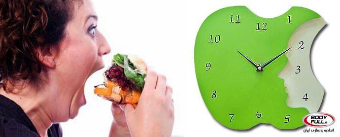 تناسب در زمان بندی تغذیه