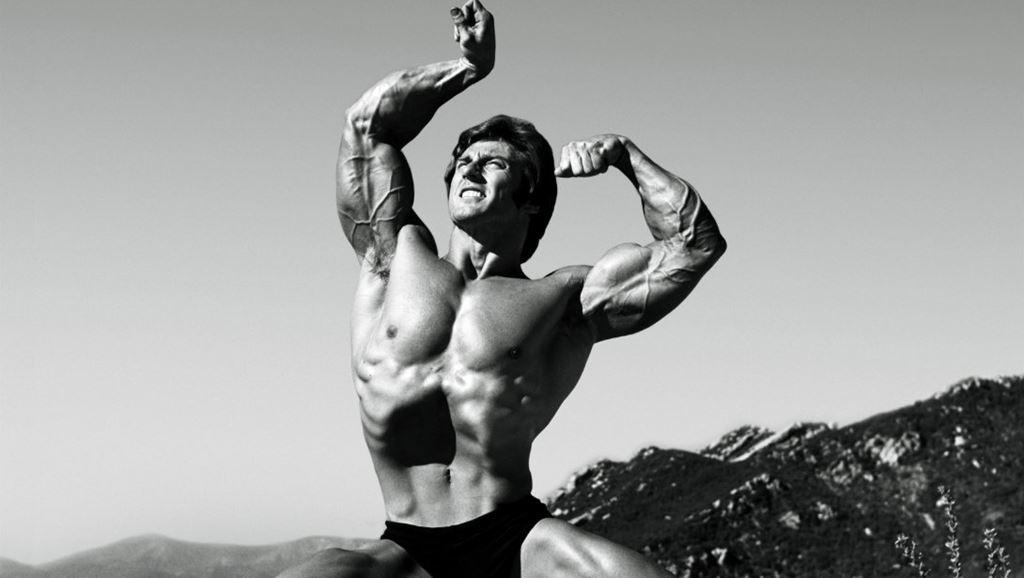 برای داشتن بازوهای بزرگتر به روش فرانک زین تمرین کنید