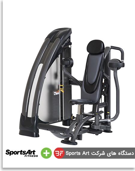 دستگاه های بدنسازی خارجی شرکت sports art