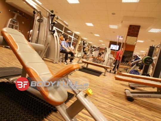 باشگاه تجهیز شده با دستگاه بدنسازی اسپرت ارت sports art