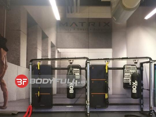 باشگاه مجهز شده با دستگاه های بدنسازی متریکس matrix
