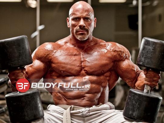 حجم عضله