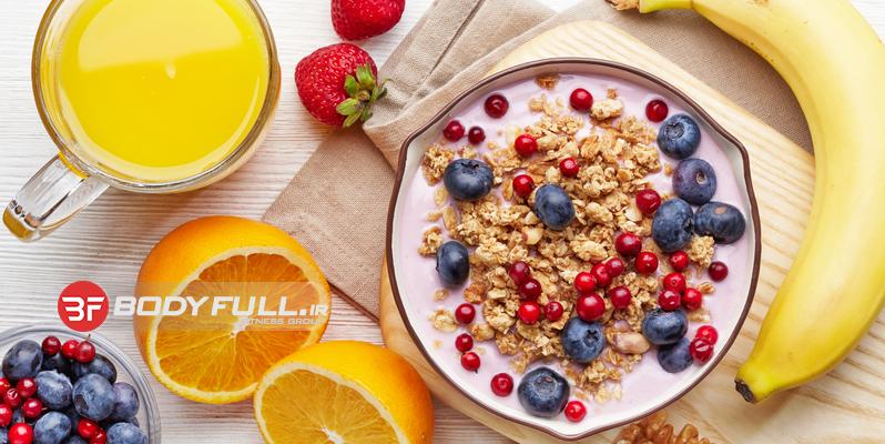 بهترین صبحانه عضله ساز بدنسازان