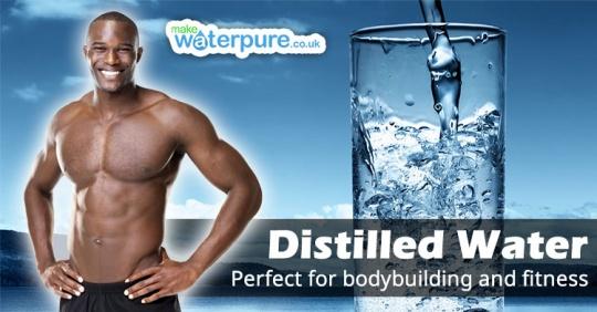 میزان مصرف آب برای بدنسازان
