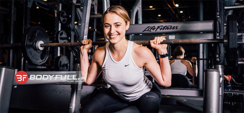 تاثیر بدنسازی بر عضلات زنان