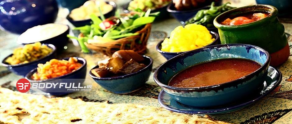 خوراک های ایرانی
