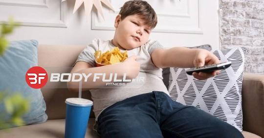 چاقی در کودکان شب زنده دار بیشتر است