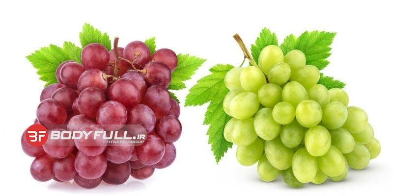 آشنایی با خواص انگور و درمان بیماریها با آن