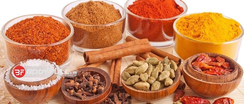 ترکیبات شفابخش موجود در ادویهها و چاشنیها