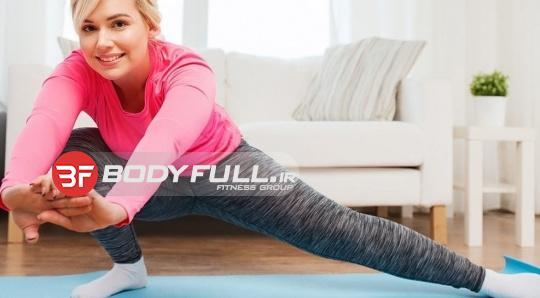 در خانه ورزش کنید
