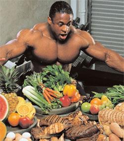 برای رشد بدنی و عضلانی به تغذیه اهمیت بدهید!
