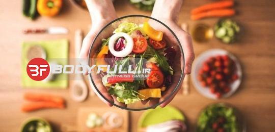 نمونه ای از رژیم غذایی برای روز پنجشنبه
