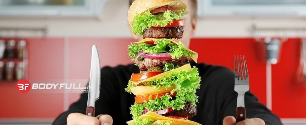 پرخوری را كنار گذاشته و در حد نیاز بدن خود تغذیه كنید