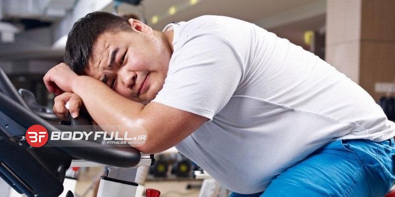 کاهش وزن زمان می خواهد