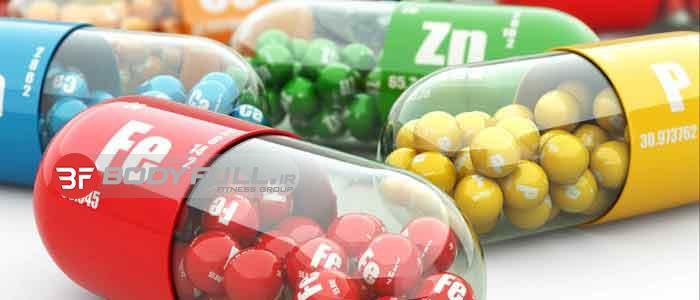 ویتامینهای مورد نیاز بدنسازان