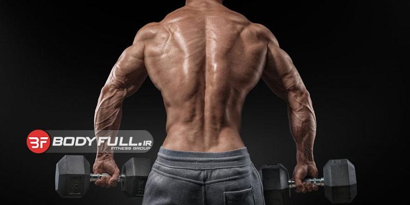 انقباض عضلات پشت