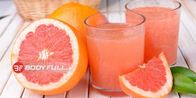 مصرف آب گریپ فروت و کوانزیم Q10