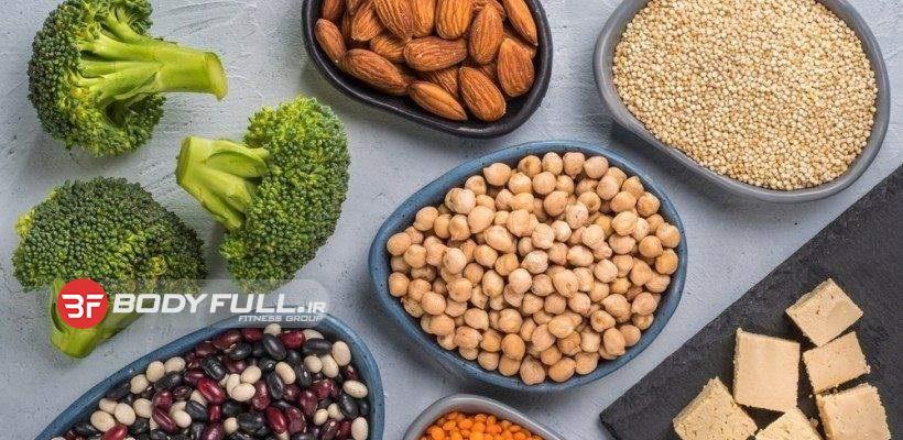 6 منبع ممتاز پروتئین غیر گوشتی