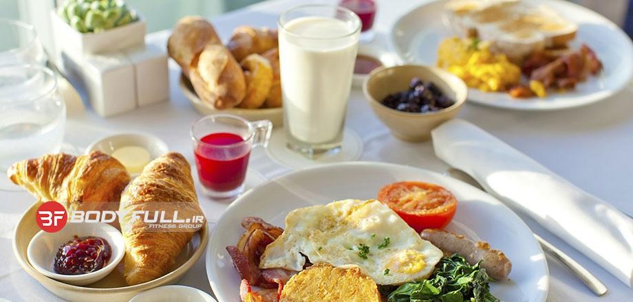 ارتباط صبحانه و چربی سوزی