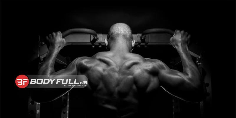 تقویت ضخامت عضلات پشت که از قبل عریض شده