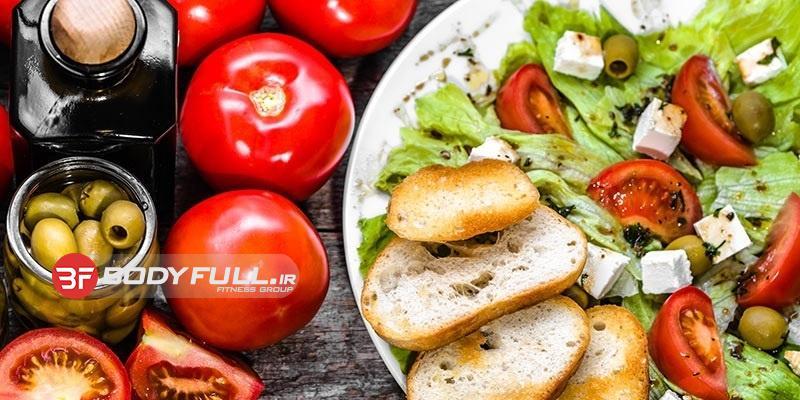 برنامه غذایی کم کالری و پرکالری