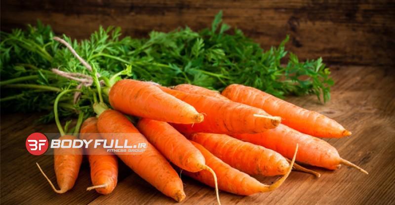ارزش غذایی هویج