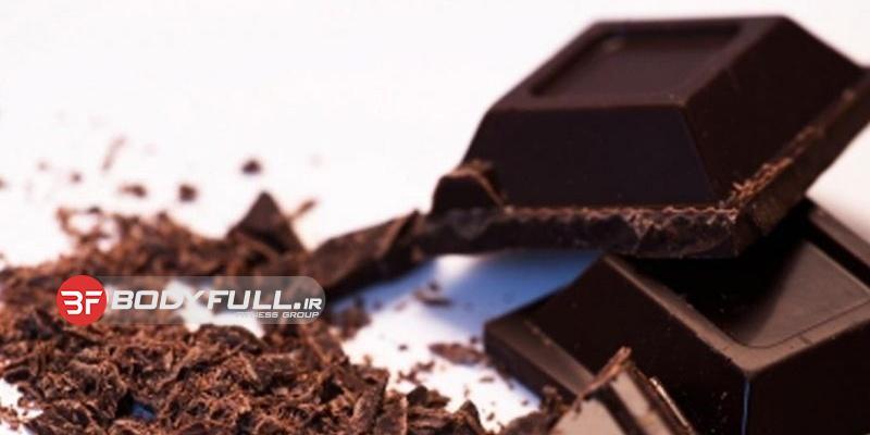 شکلات بخورید! و قلب خود را شکلاتی بیمه کنید