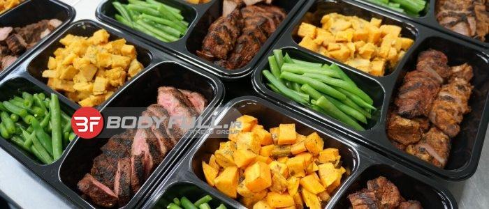 برنامه غذایی بدنسازی حجم