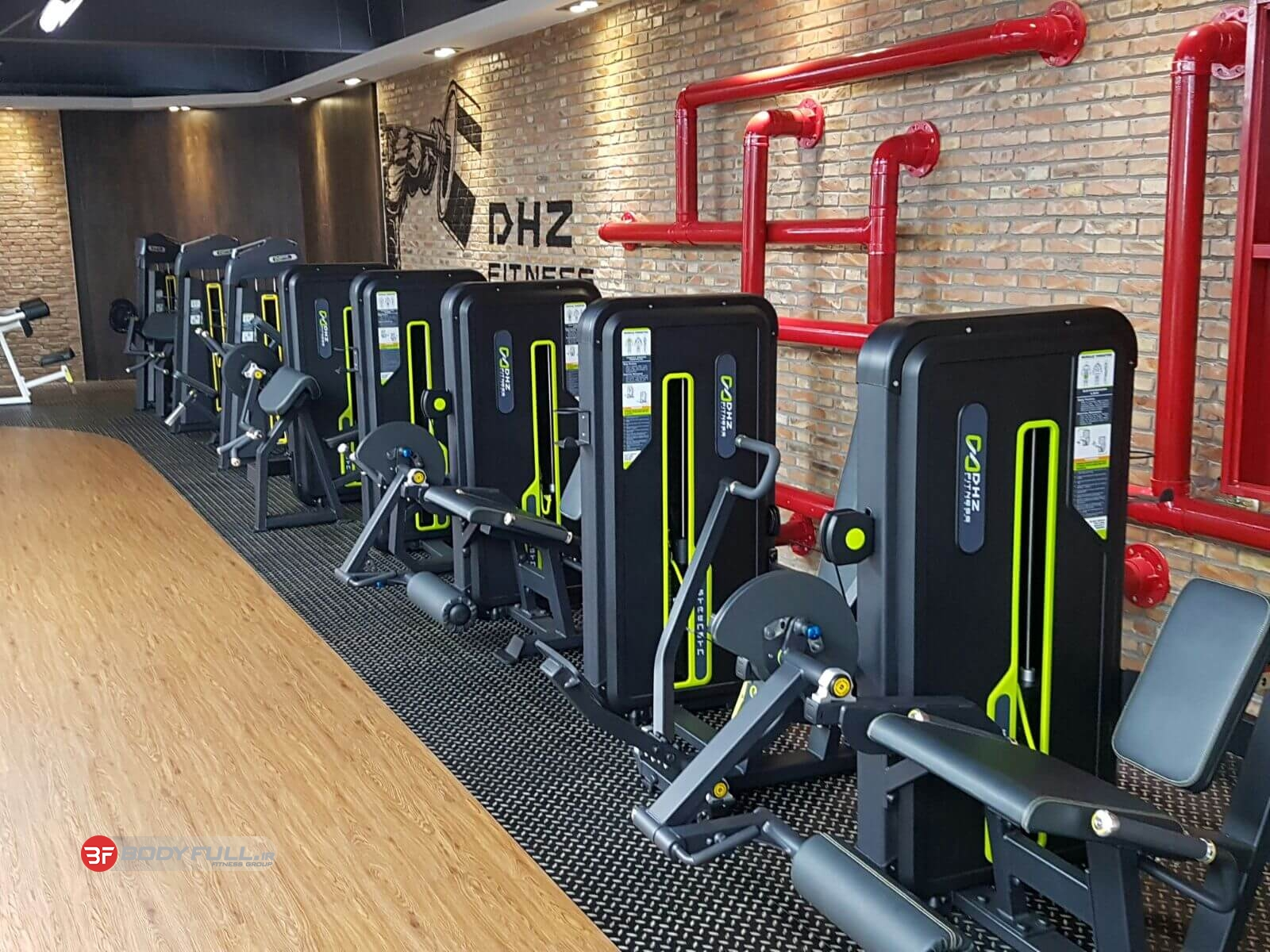 آلبوم دستگاه های شرکت دی اچ زد DHZ - بادی فول | BodyFull.ir