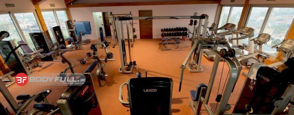 باشگاه بدنسازی با تجهیزات لکسکو lexco