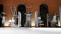 باشگاه بدنسازی تجهیز شده با دستگاه های بدنسازی شرکت بی اچ BH