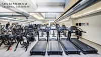 باشگاه تجهیز شده با دستگاه های بدنسازی سایبکس cybex