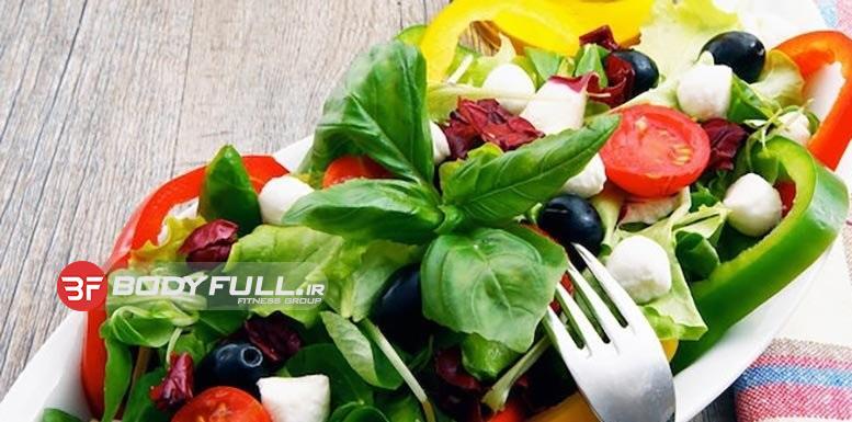 برنامه غذایی بدنسازی بدون مصرف گوشت برای گیاهخواران