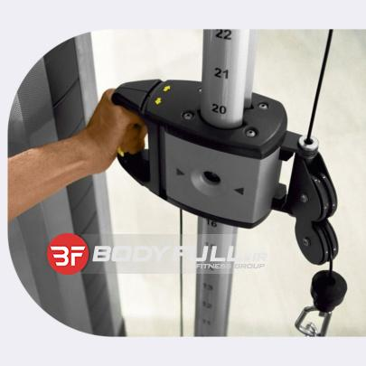 مولتی کراس تکنوجیمCABLESTATIONS DUAL ADJUSTABLE PULLEY (6)