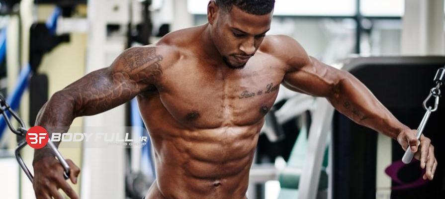 اوج انقباض و تمرکز برای رشد بیشتر عضلات