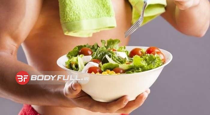 چگونه بفهمیم چه غذایی برای بدنسازی سالم است؟