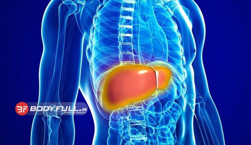 علامت بیماری کبد در بدنسازانی که دارو مصرف میکنند