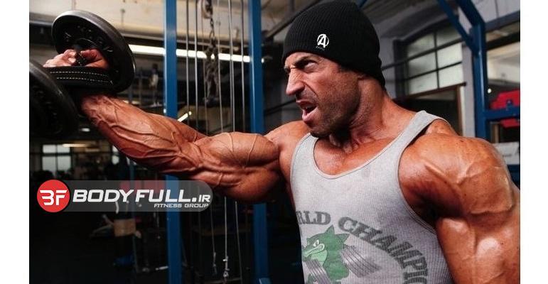 برنامه تمرین سینه نفر پنجم مسابقات 2010 نیویورک برای تقویت و حجم و قدرت