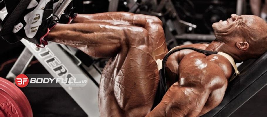تمرینات تخصصی عضلات پا