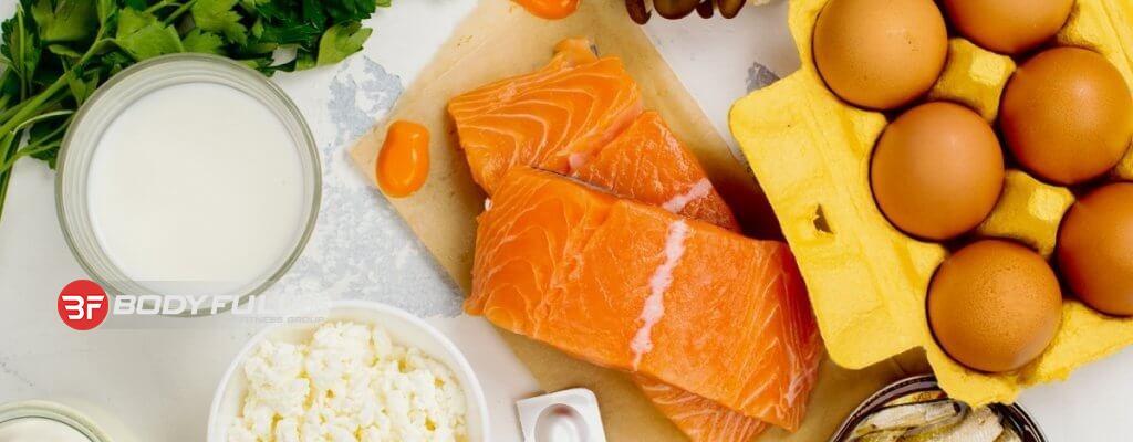 غذاهای حاوی ویتامین D-5 منبع غذایی