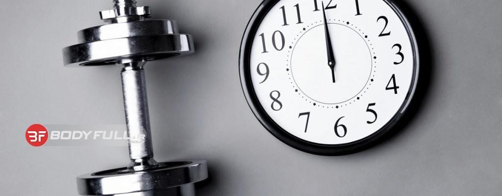 بهترین زمان برای ورزش در طول روز